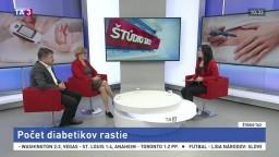 ŠTÚDIO TA3: E. Goncalvesová a E. Martinka o cukrovke