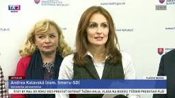 TB ministerky A. Kalavskej o doplatkoch pacientov za lieky