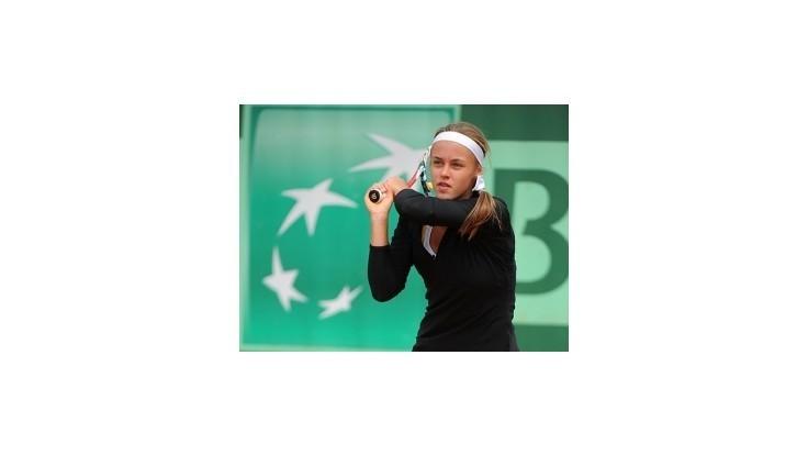 Schmiedlová vo finále juniorskej dvojhry na Roland Garros
