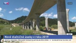 Výstavba diaľnic sa spomalila, na budúci rok však pribudnú nové úseky