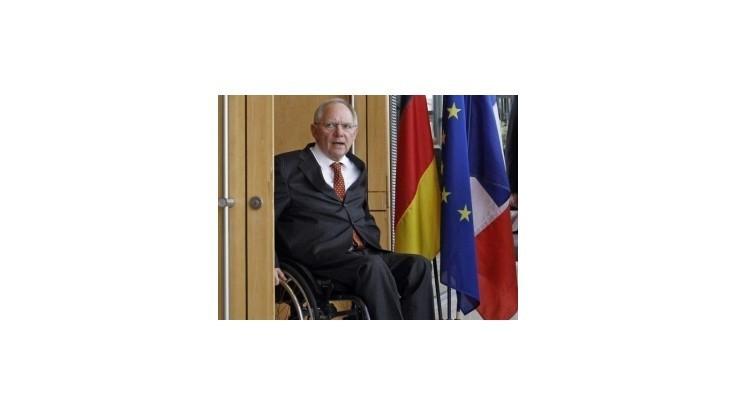 Španielske banky neohrozujú stabilitu eurozóny, tvrdí Schäuble