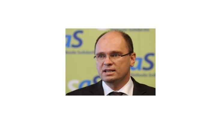 Vláda pravicových strán nebude mať podporu SaS