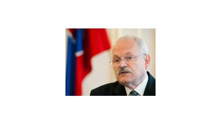 Prezident I. Gašparovič odvolá vládu, o novej chce rokovať