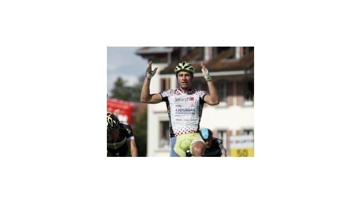 Sagan vyhral 3. etapu Okolo Švajčiarska, pelotón zabrzdil vlak