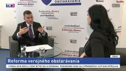 Predseda ÚVO M. Hlivák o reforme verejného obstarávania