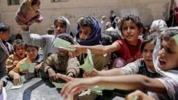 Pomoc pre hladujúcich v Jemene končí v rukách zlodejov
