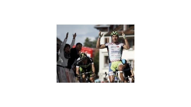 Sagan triumfoval i v 6.etape Okolo Švajčiarska