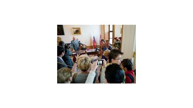 Na prezidentský Deň otvorených dverí prišli tisícky ľudí