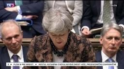 Prejav Theresy Mayovej o náhradnom pláne brexitu