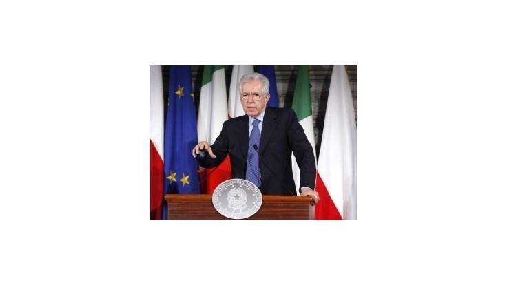 Monti predstavil balík opatrení na podporu hospodárskeho rastu