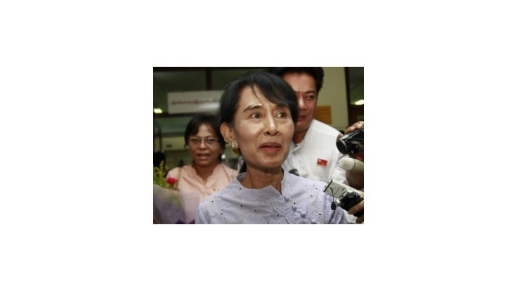 Su Ťij si prevzala Nobelovu cenu mieru