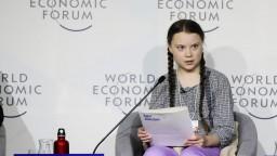 Mladá aktivistka vystúpila v Davose s odvážnym príhovorom