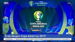 Žreb Copa America je už jasný, Brazília v papierovo ľahkej skupine