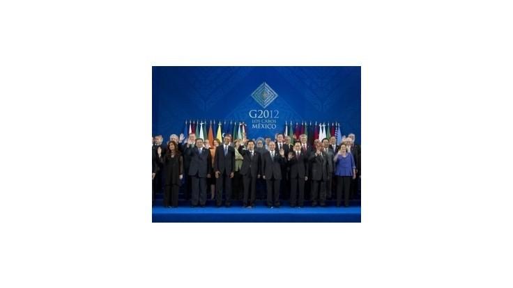G20: Vytvoríme plán globálneho rastu