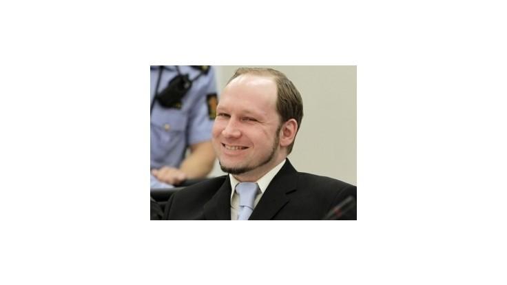 Breivik by mal skončiť na psychiatrickom oddelení, tvrdí obžaloba