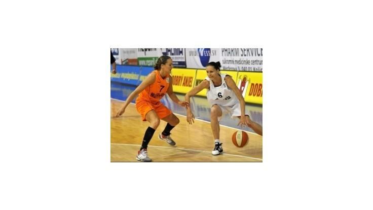 Slovenské basketbalistky si poradili s Holandskom 70:48