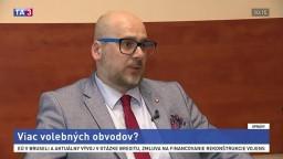 Odborník na samosprávu M. Kaliňák o volebných obvodoch