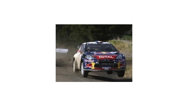 Loeb vyhral už piate tohtoročné preteky MS
