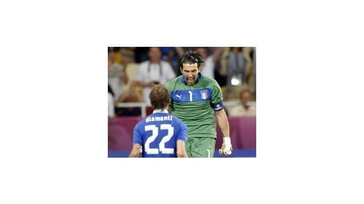 Taliansko postúpilo cez Anglicko do semifinále, rozhodli penalty