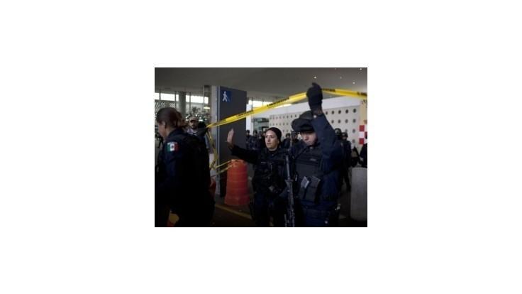 Pašeráci na najväčšom mexickom letisku zastrelili troch policajtov