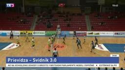 Volejbalisti z Prievidze sú opäť vo finále, využili prvý mečbal