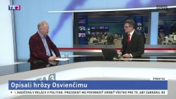 ŠTÚDIO TA3: P. Švec o úteku dvoch Slovákov z Osvienčimu