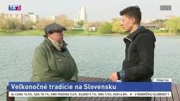 ŠTÚDIO TA3: K. Nádaská o veľkonočných tradíciách na Slovensku
