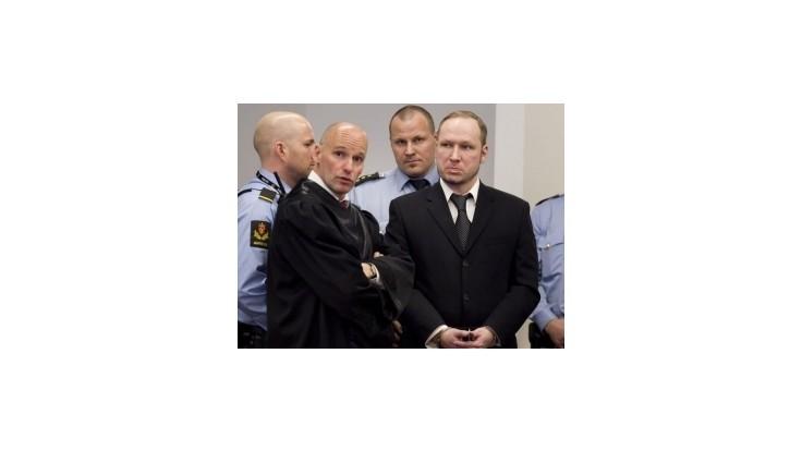 Nórsko vybuduje uzavreté psychiatrické zariadenie pre Breivika