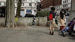 Dielo v centre Londýna spôsobilo rozruch. Malo by ísť o Banksyho