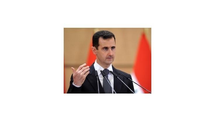 Asad odmieta akékoľvek riešenie krízy v Sýrii zahraničím