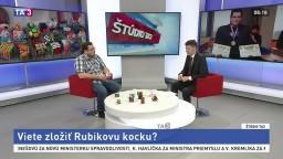 ŠTÚDIO TA3: študent L. Both o skladaní Rubikovej kocky