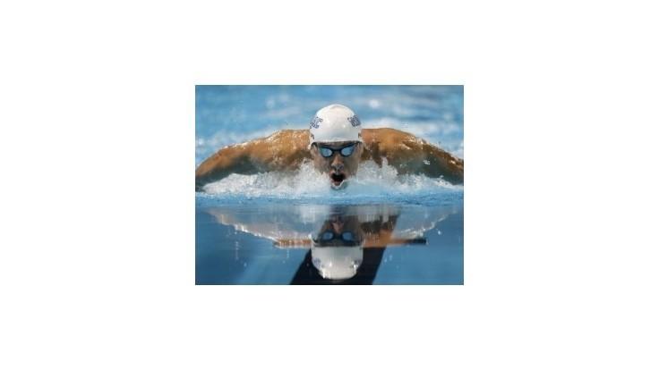 Druhý národný titul pre Phelpsa, v Londýne v 8 disciplínach