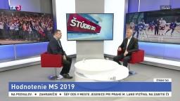 ŠTÚDIO TA3: D. Rusnák zhodnotil MS v hokeji 2019