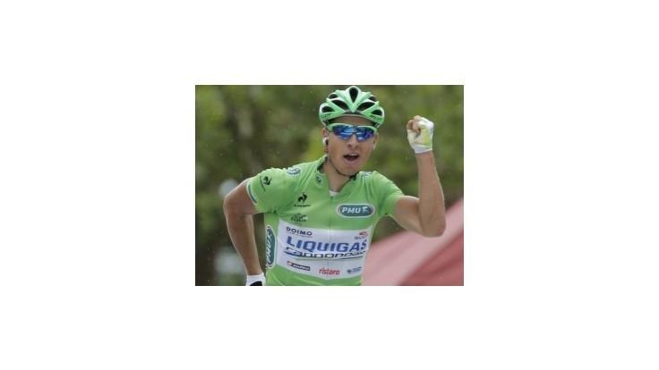 Sagan vyhral aj tretiu etapu TdF, P. Velits skončil tretí