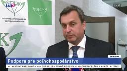 TB A. Danka a E. Macha o podpore pre poľnohospodárstvo