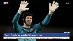 Brankár Arsenalu Petr Čech sa prehrou rozlúčil s kariérou