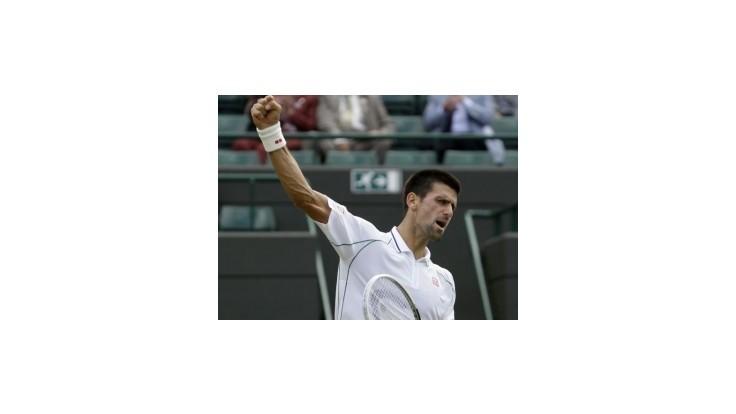 V semifinále sa stretnú Djokovič - Federer a Murray - Tsonga