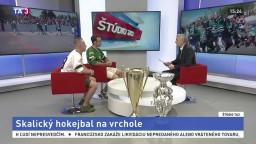 ŠTÚDIO TA3: Útočníci D. Vadík a R. Smetana o skalickom hokejbale