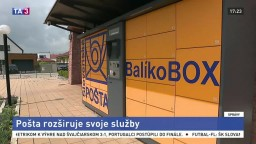 Pošta rozširuje svoje služby, modernizuje balíkoboxy
