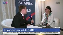 Gruzínsko chce vstúpiť do NATO, má podporu väčšiny obyvateľov