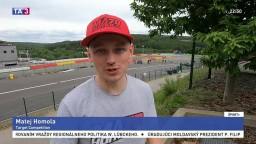 Homola obsadil na pretekoch TCR v Belgicku strieborné miesto