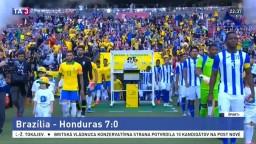 Brazília bola bez Neymara, no v zápase s Hondurasom si poradili