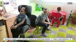 Bratia Sebastián, Tobias a Marko. Každý má postihnutie, s ktorým zápasí každý deň