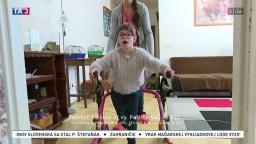 Dominika má detskú mozgovú obrnu, potrebuje špeciálne rehabilitácie