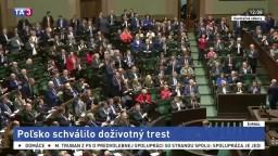 Poľsko schválilo novelu zákona, bude mať doživotný trest