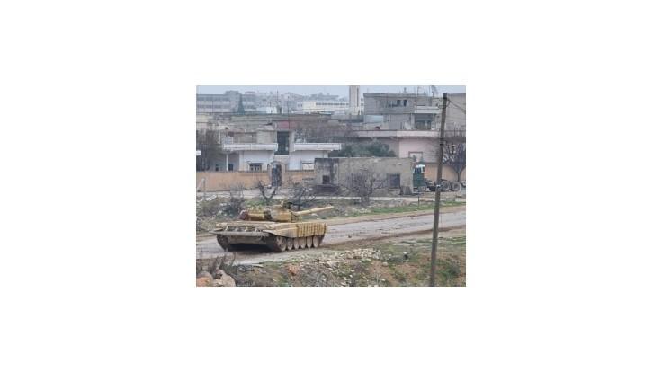 Sýrska armáda ostreľovala viaceré dediny