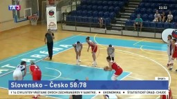Úvod bol vyrovnaný, no české basketbalistky nás nakoniec zdolali
