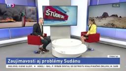 ŠTÚDIO TA3: M. Kortiš o zaujímavostiach i problémoch Sudánu