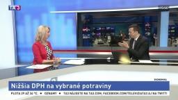 HOSŤ V ŠTÚDIU: Poslankyňa E. Antošová o nižšej DPH na vybrané potraviny
