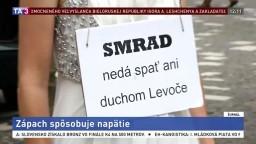 Zápach v Levoči spôsobuje napätie, pri rozprave padali ostré slová